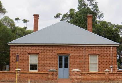 Old Guildford Courthouse, Western Australia, early Australian courthouses, old Australian courthouse, Australian legal history