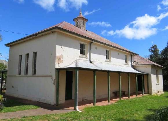 Gundaroo Courthouse (former), NSW, Gundaroo, early Australian courthouses, old Australian Courthouses, Colonial Australian Courthouses, Australian Legal history