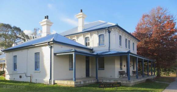 Gunning Courthouse (former), old Gunning Courthouse, Australian courthouses, old Australian courthosues, Colonial Australian Courthouses, Australian legal history,