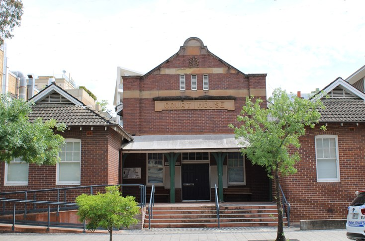 Kogarah Courthouse, New South Wales, early Australian courthouses, Australian legal history, old Australian courthouses