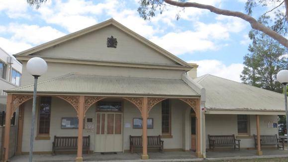 Raymond Terrace Courthouse, old Australian courthouses, early Australian courthouses, historical Australian courthouses, Australian legal history