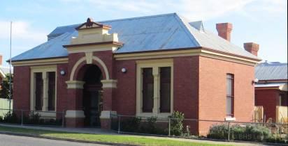 Rutherglen Courthouse (former), Rutherglen Courthouse, early Australian Courthouses, old Australian courthouses, Australian legal history