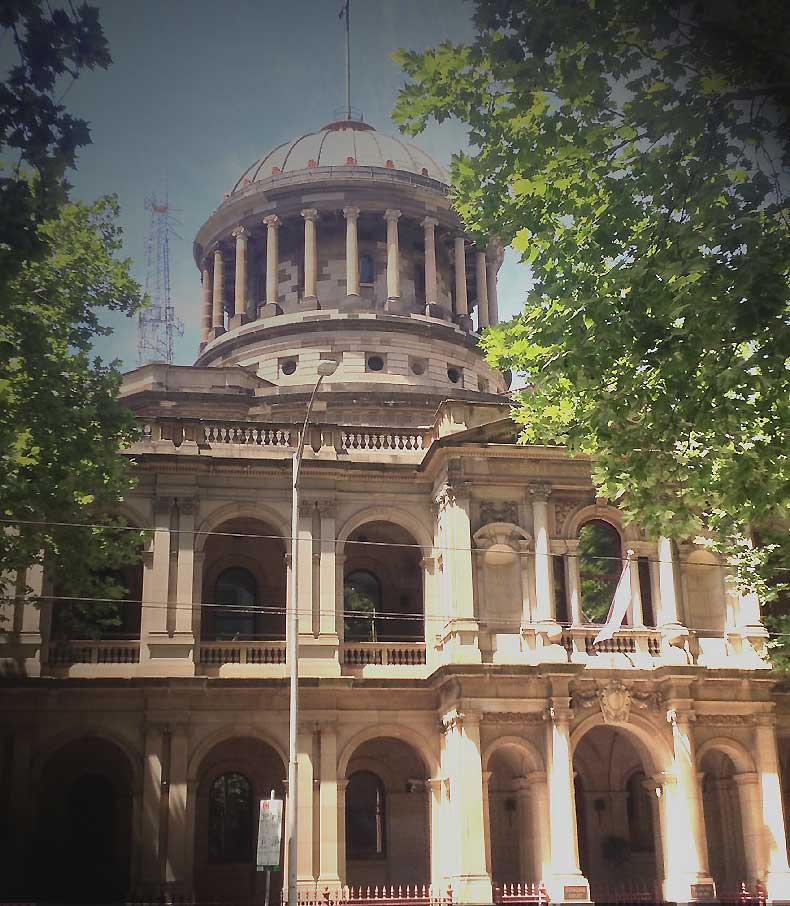 Supreme Court of Victoria, early Australian courthouses, old Australian courthouses