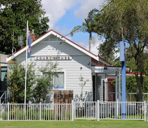Tea Gardens Courthouse, New South Wales