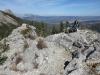 High point on Baldy Ridge