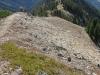 The long way back down the Ridge