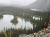 Mary Lakes on Opabin Plateau trail