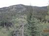 This is the ridge we took by mistake last week. We named it Mushroom Ridge