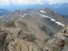 Lapalian,Larch ski cuts and Fay Glacier behind