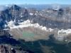 4-hungabee horseshoe glacier horseshoe-lakes-paradise-meadows