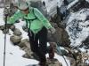 Hitting the summit ridge