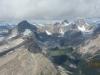Lft to Rt Watermelon Peak, Quartize Peak, Ramp Peak, Mosquito Mt,