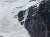 Avalanche from the Victoria Glacier