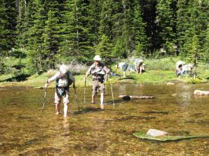 Crossing Babel Creek