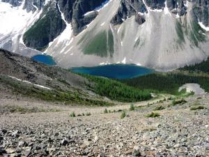 Consolation lakes