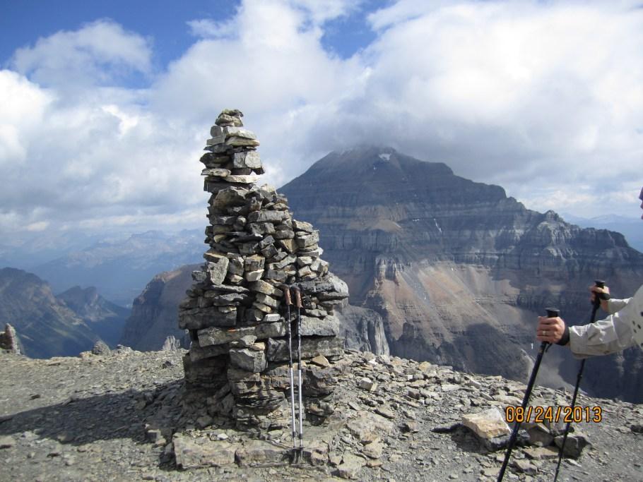 Big Summit Cairn Mt Eiffel