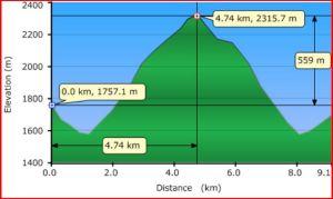 Arnica lake Profile