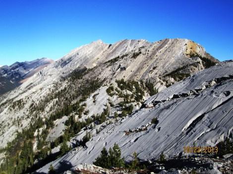 Loder Mountain from Door Jam Peak