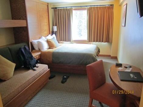 Sunshine Village Hotel room