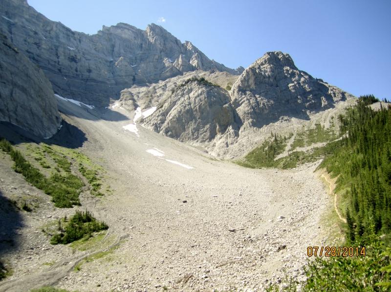 Cascade mountain at Cirque