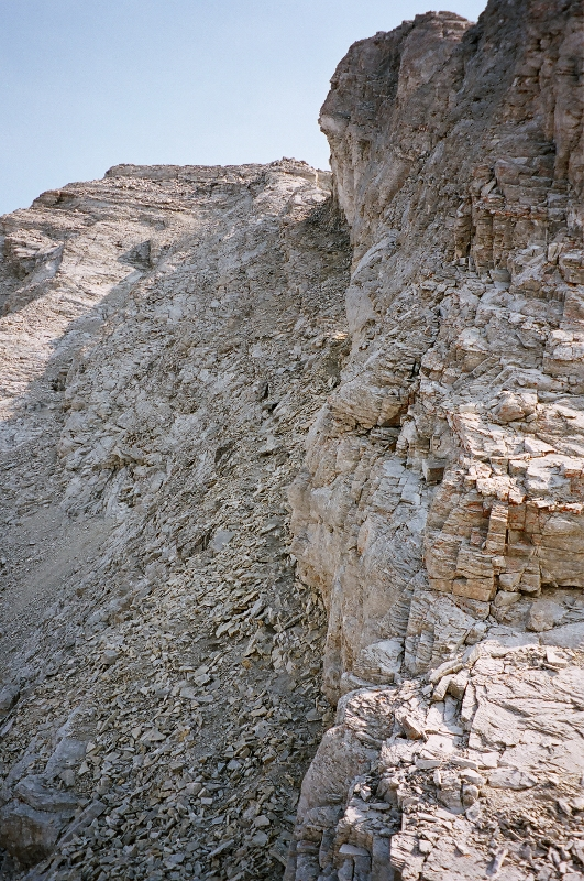 Route up on left to Summit