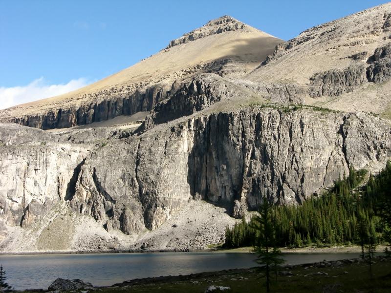 Rockbound Lake with Helena behind