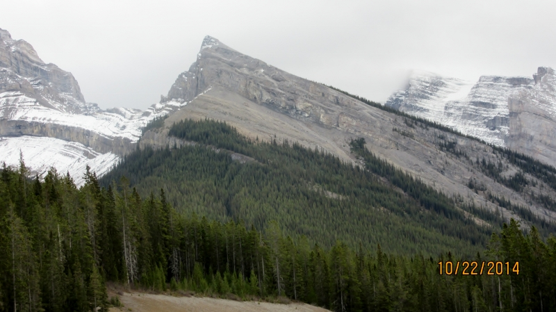 Little Lougheed from the road