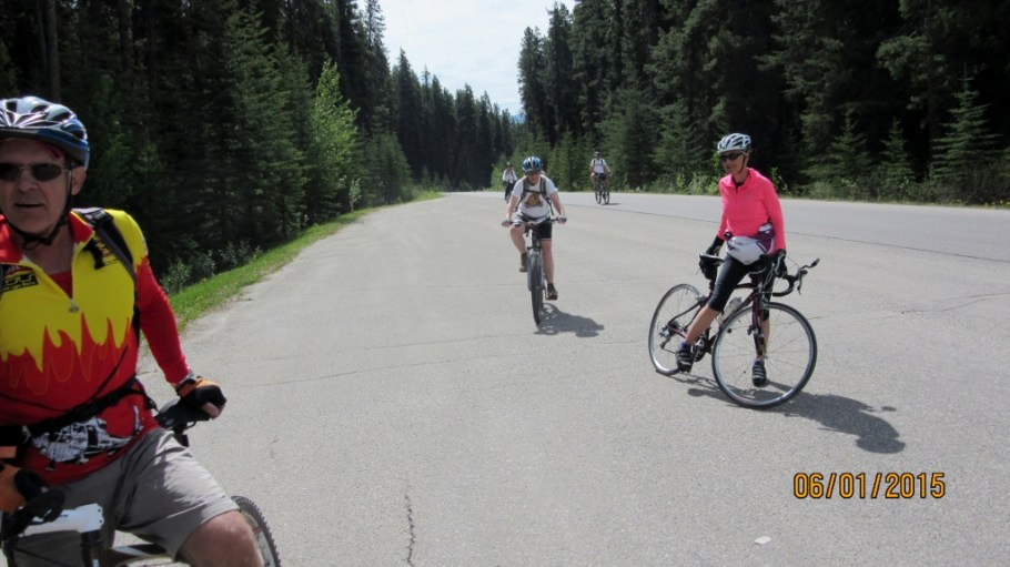 On the Bow Valley Parkway