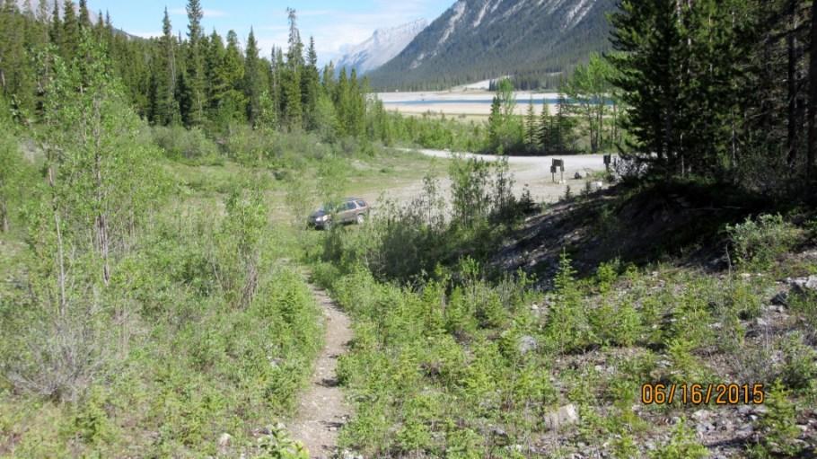 Trail head Parking