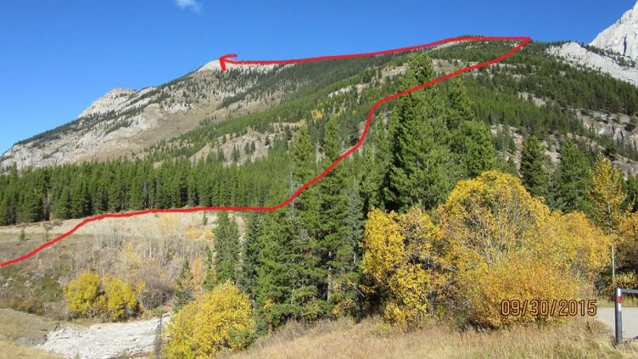 The big picture of King Creek Ridge