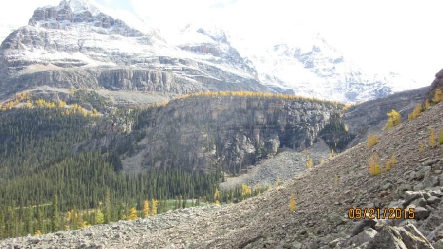Opabin Plateau and Mary lakes