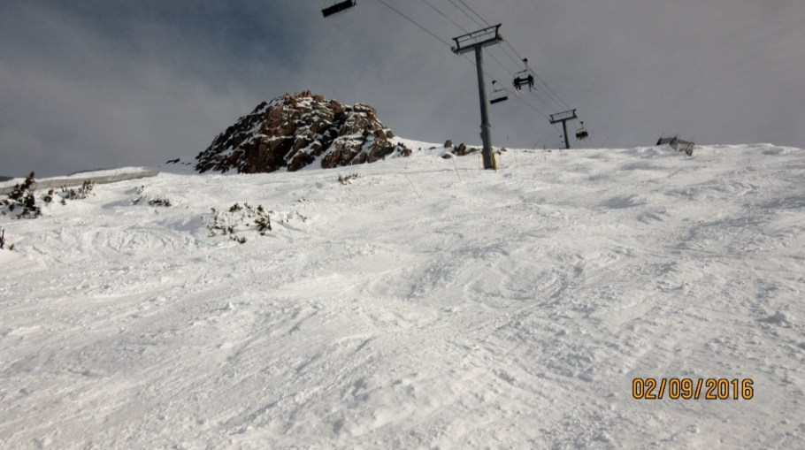brewsters Rock under the Great Divide Chair
