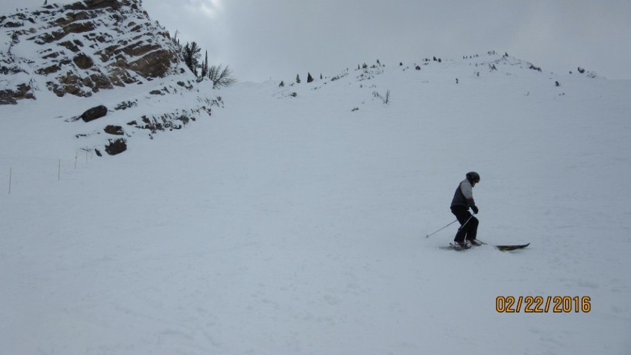 Another route into Fuez Bowl