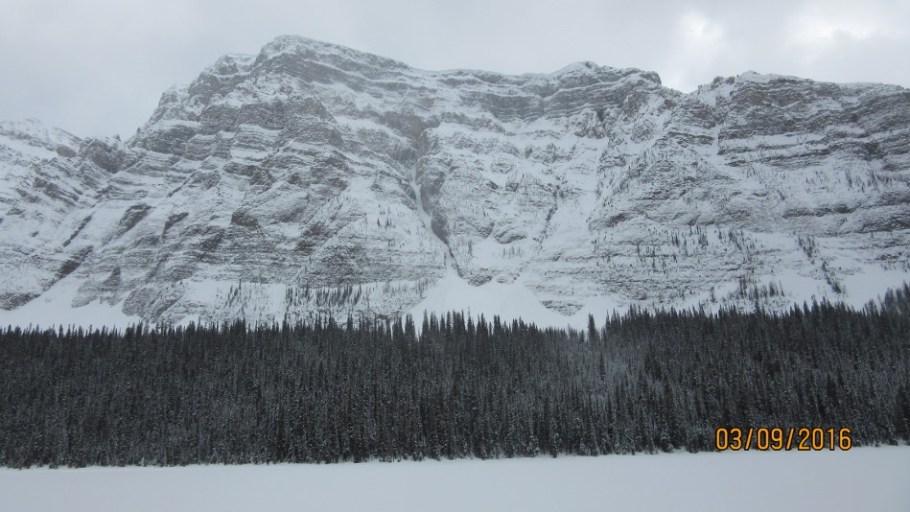 Boom Mountain at Boom Lake