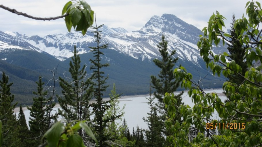 Spray lakes and Goat Mt