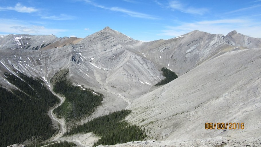 Peaks 1 & 2 from the summit