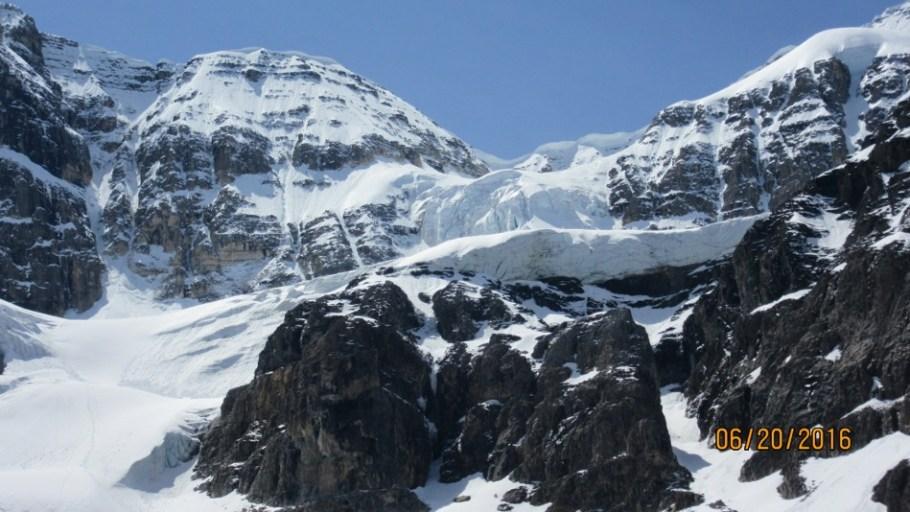 Close up of Stanley Glacier