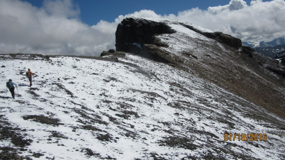 There's the summit