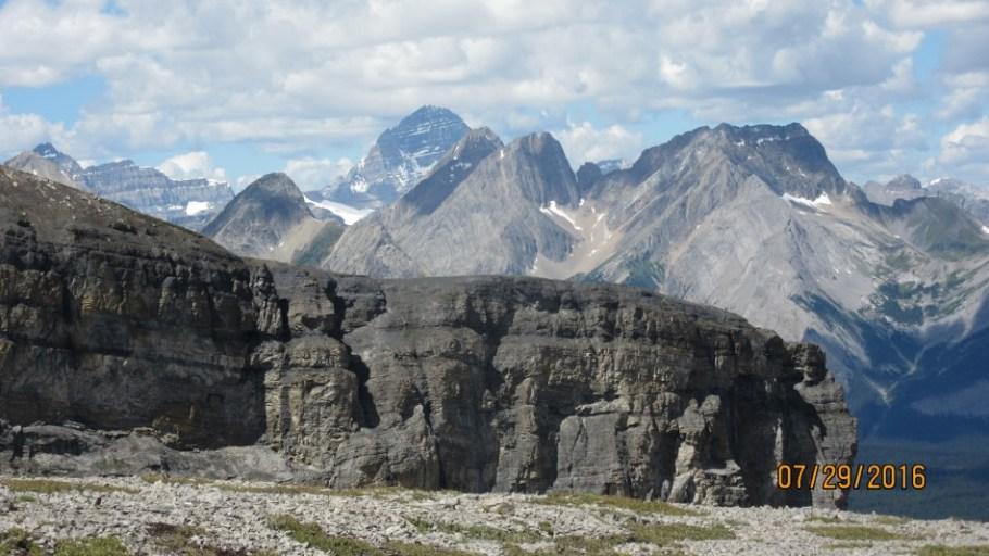 Snow Peak and Assiniboine