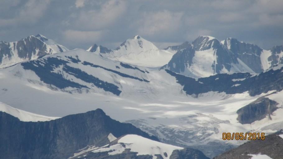 Mt Baker and Trapper Peak