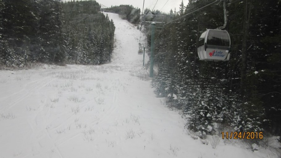 Ladies Downhill run Uck. This is not the run they use
