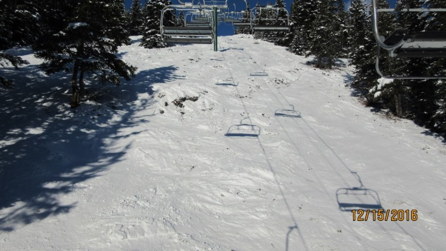 Ptarmigan Lift and the need for more snow