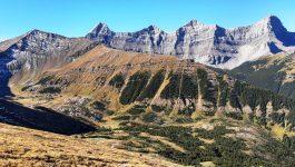 Mount Collembola to                  Mt AllenTraverse