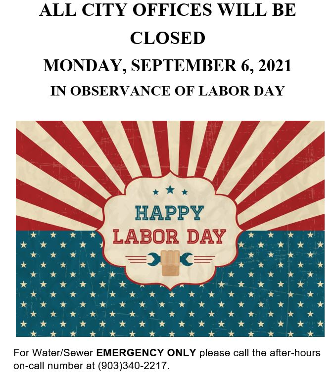 Here are all the stores open on labor day, including information about liquor stores, banks, walmart, target, and more. ALL CITY OFFICES CLOSED MONDAY, SEPTEMBER 6TH FOR LABOR ...