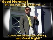 Lesson 175 ~Good Morning, Evening, Goodnight~