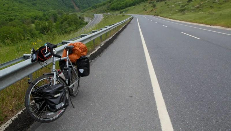 Loaded Bike Shot 2