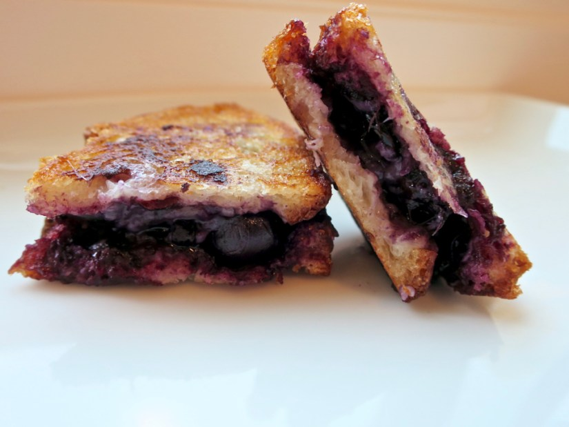 Blueberry & Balsamic Bellavitano Grilled Cheese