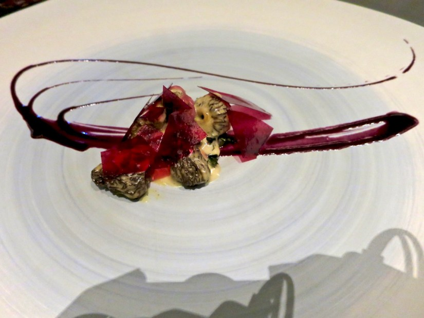 #6 - Glass/Petal -  morel, blueberry