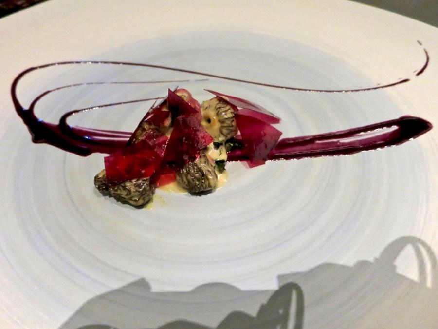 #6 - Glass/Petal -  morel, blueberry