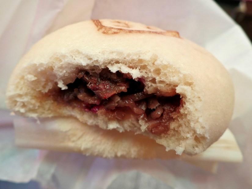 Kotohoka kyotoniku - Kyoto beef buns! So good.